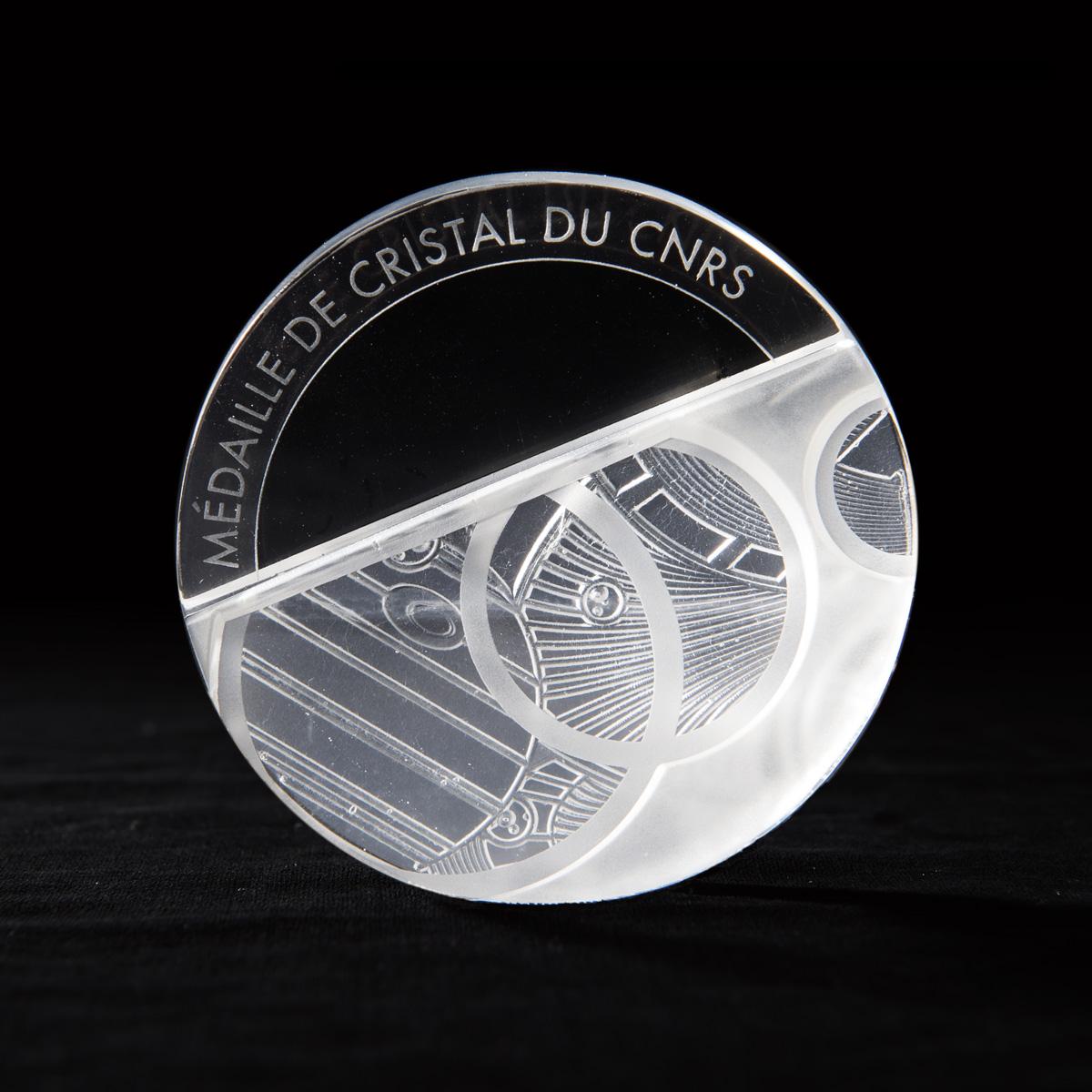 médaille de cristal du CNRS